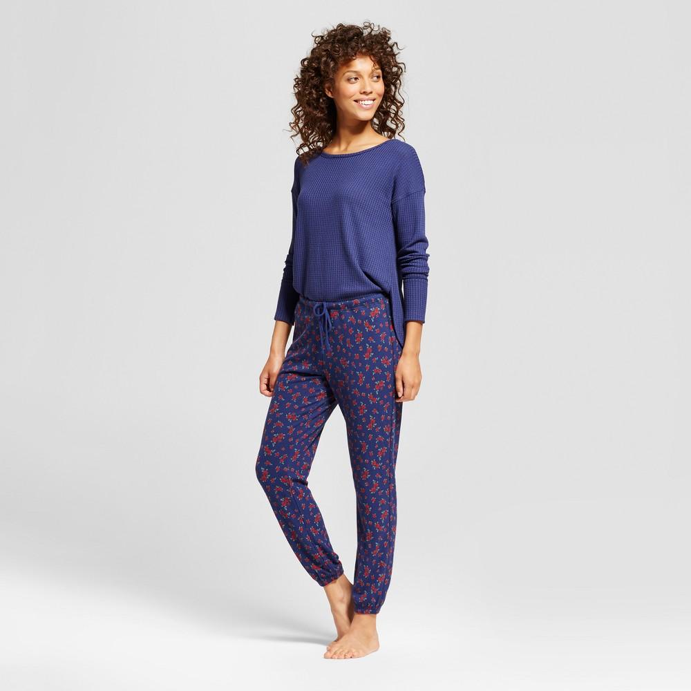 Womens Pajama Set - Xhilaration Nightfall Blue XL