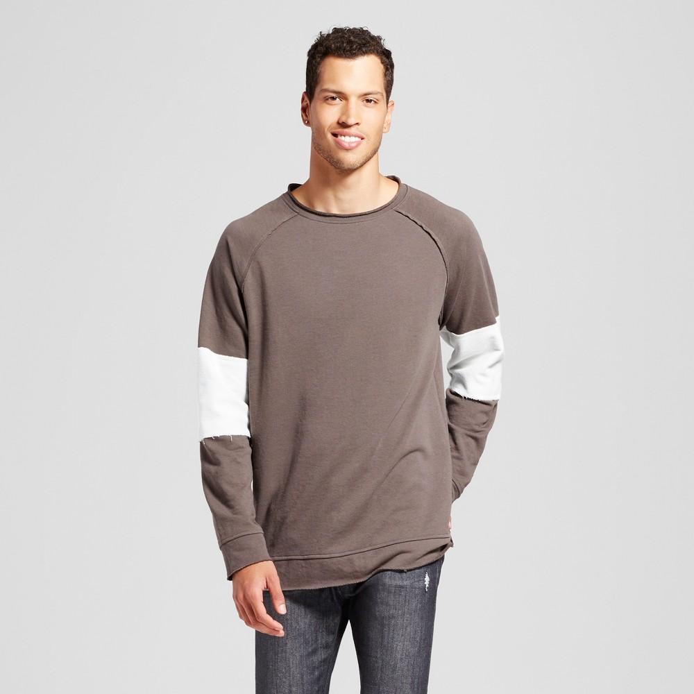 Mens Raglan Pullover - Jackson Charcoal M, Gray