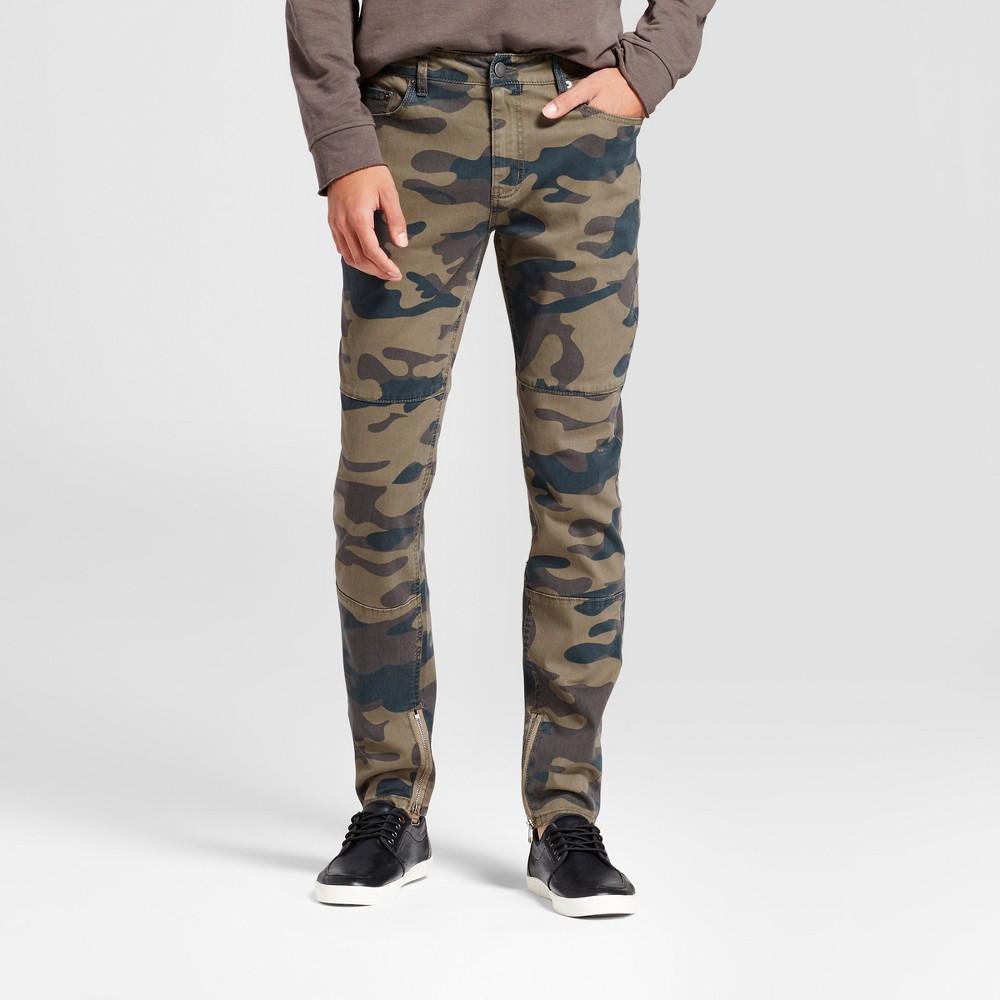 Mens Fashion Pant - Jackson Olive 32, Green