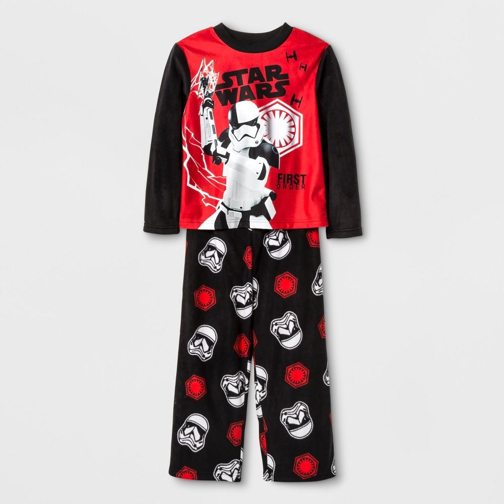 Boys Star Wars 2 Piece Pajama Set - Black 8