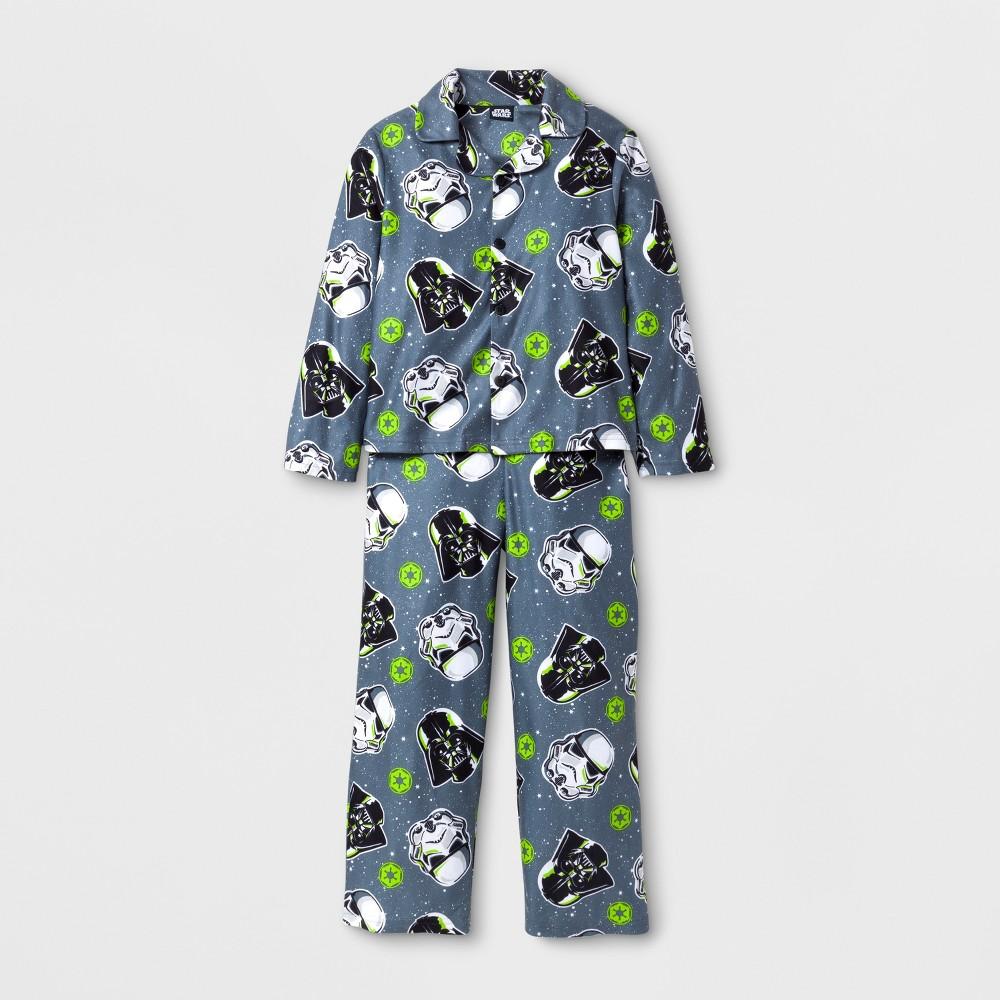 Boys Star Wars 2 Piece Pajama Set - Gray 8