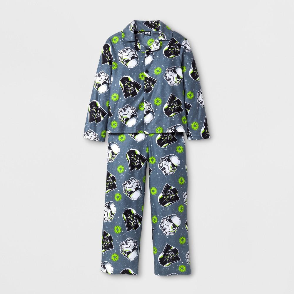 Boys Star Wars 2 Piece Pajama Set - Gray 6