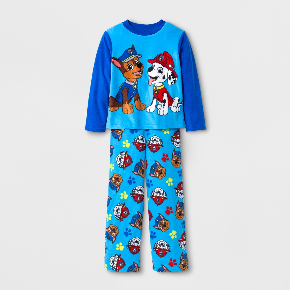 Boys Paw Patrol 2 Piece Pajama Set - Blue 8