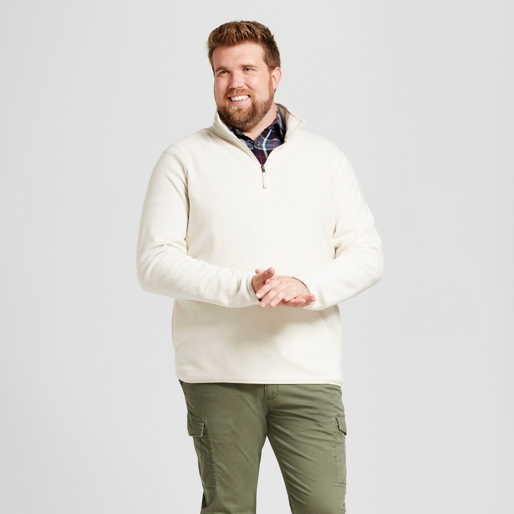 Mens Big & Tall Microfleece Pullover - Goodfellow & Co Beachcomber Xlt