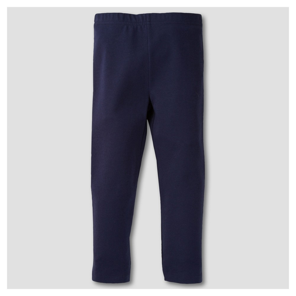 Gerber Graduates Toddler Girls Leggings Pants - Navy 24M, Blue