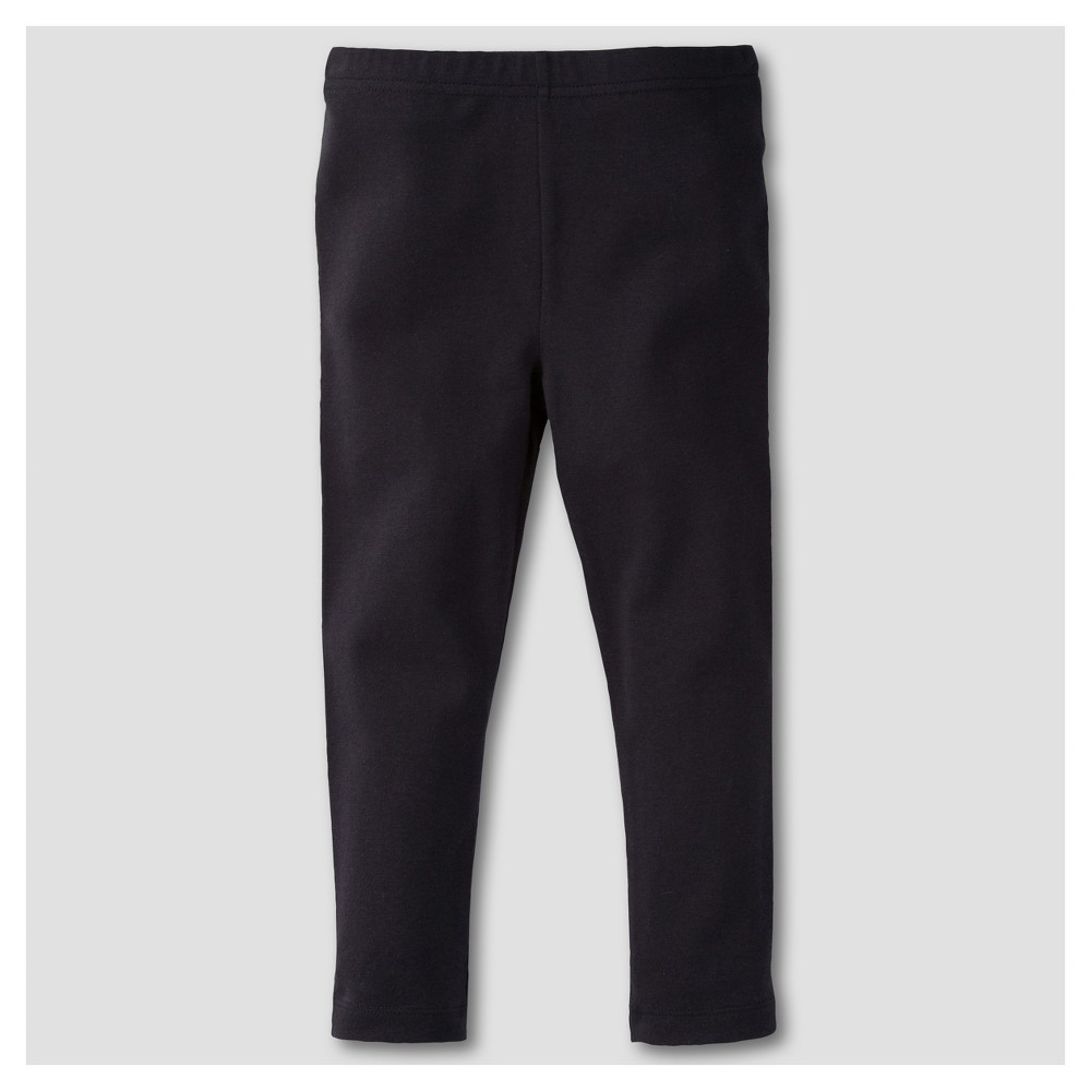 Gerber Graduates Toddler Girls Leggings Pants - Black 24M