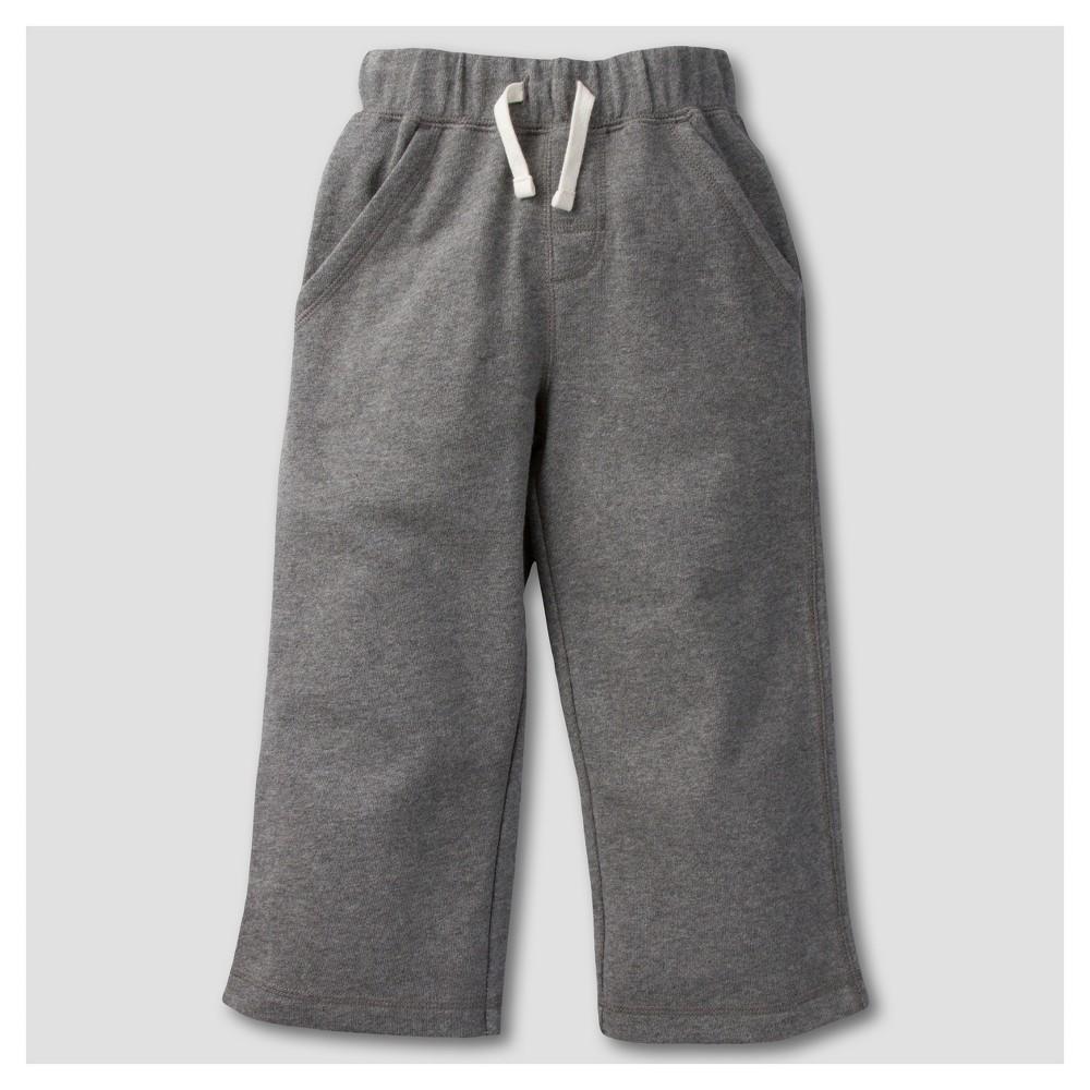 Gerber Graduates Toddler Boys Pants - Gray 18M, Size: 18 M