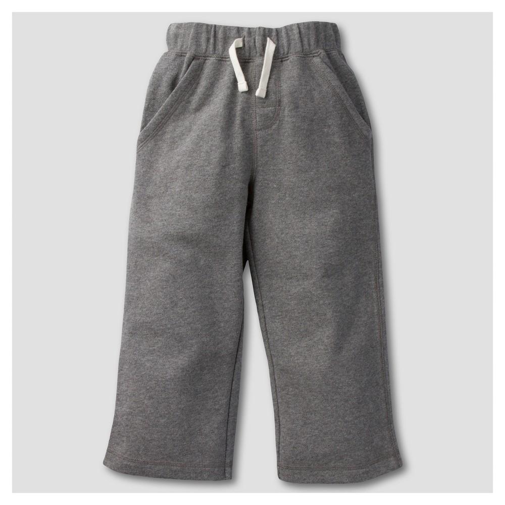 Gerber Graduates Toddler Boys Pants - Gray 24M, Size: 24 M