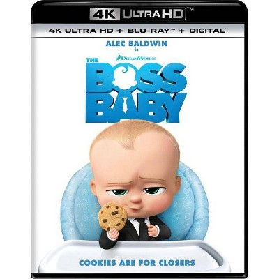 Boss Baby (4K/UHD + Blu-ray + Digital)