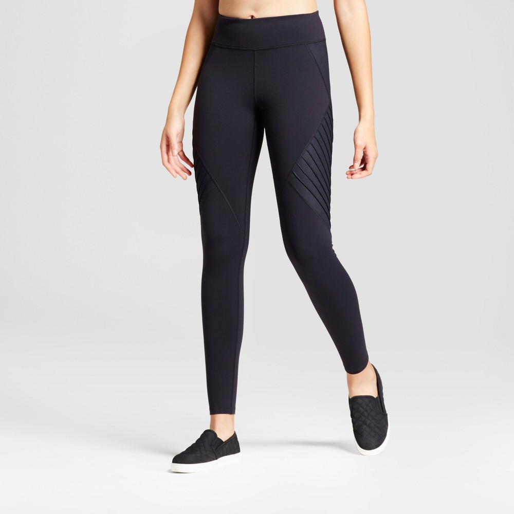 Womens Premium Moto Leggings - JoyLab Black XL