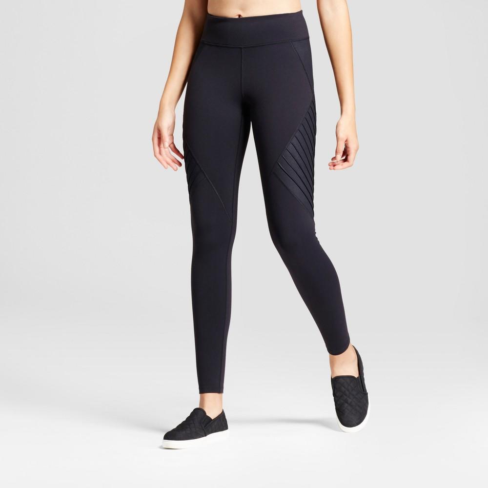 Womens Premium Moto Leggings - JoyLab Black XS