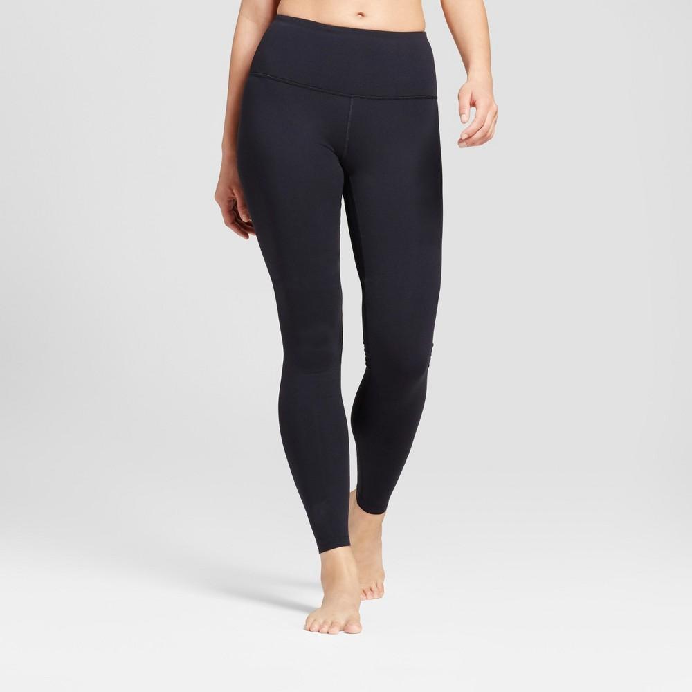 Womens Premium High Waist Long Leggings - JoyLab Black S