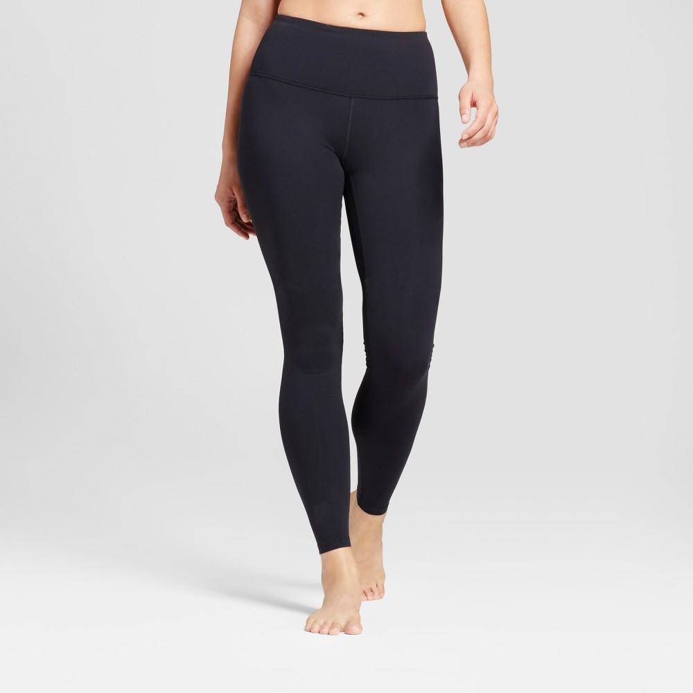 Womens Premium High Waist Long Leggings - JoyLab Black XL