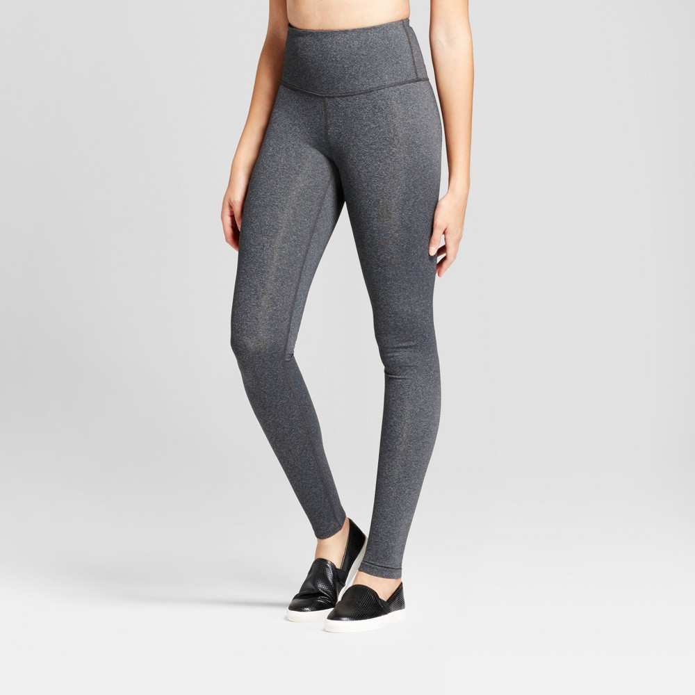 Womens Premium High Waist Long Leggings - JoyLab Charcoal Heather M