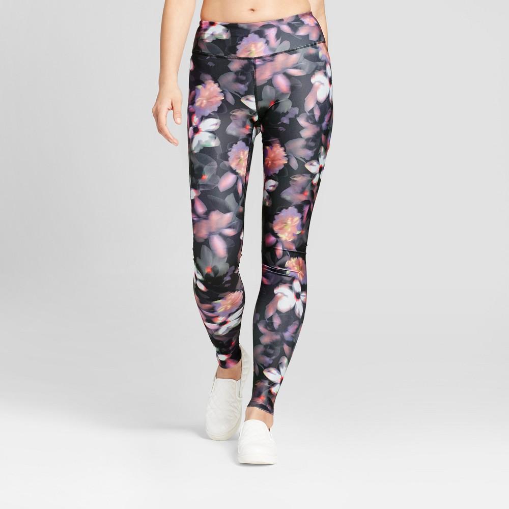 Womens Performance Leggings - JoyLab Floral Print M, Multicolored