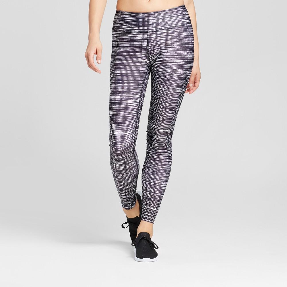 Womens Performance Leggings - JoyLab Static Print L, Multicolored