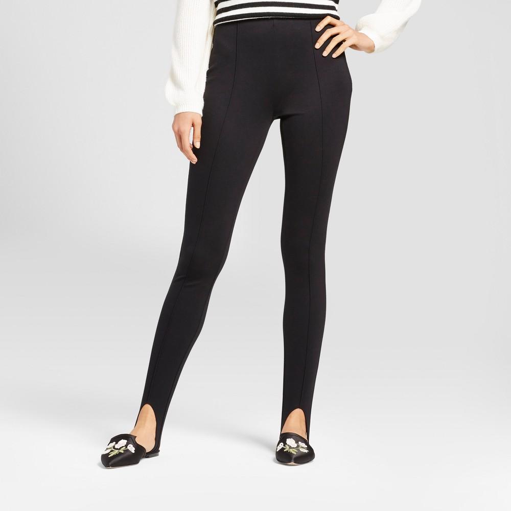 Womens Stirrup Leggings - Who What Wear Black 14