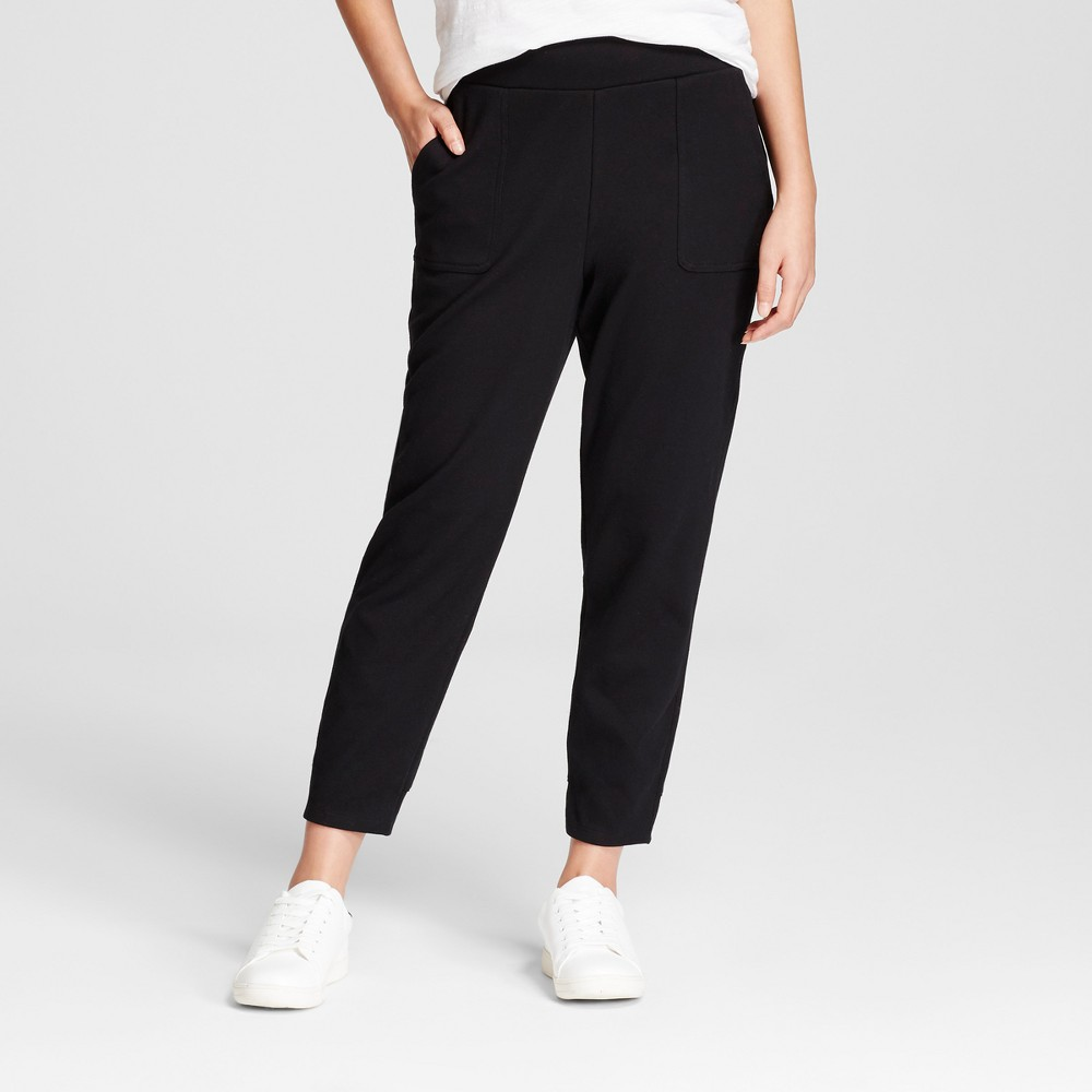 Womens Jogger Pants - A New Day Black L