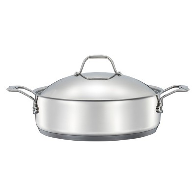 Stainless Steel 5qt Braiser Silver - Threshold™