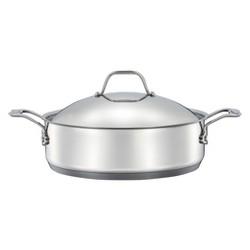 Stainless Steel 5qt Braiser Silver - Threshold™