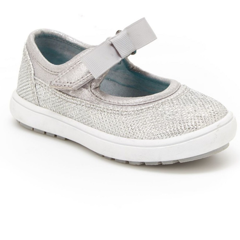 Toddler Girls Java Mary Jane Just One You Made by Carters Silver 8