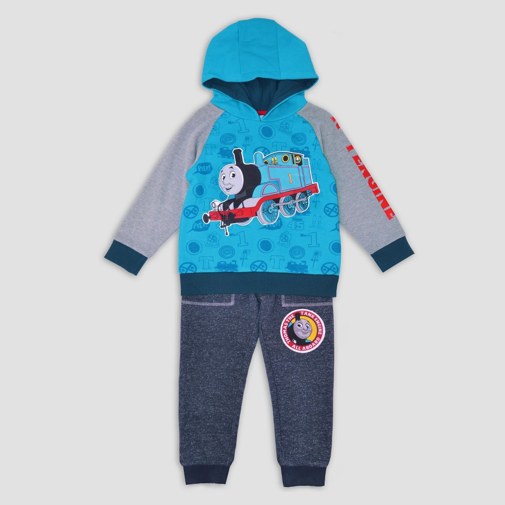 Toddler Boys Thomas & Friends Hoodie And Pants Set - Navy 3T, Blue