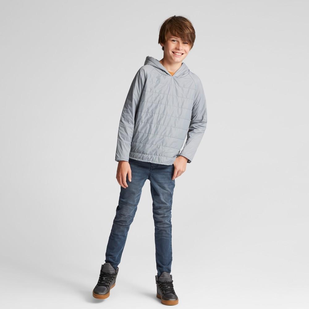 Boys Light Weight Long Sleeve Sweatshirt - Art Class Gray S