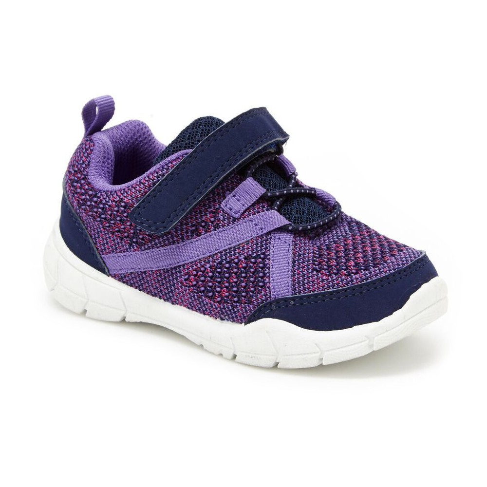 Toddler Girl Trinity Sneakers - Just One You Made by Carters Purple 5