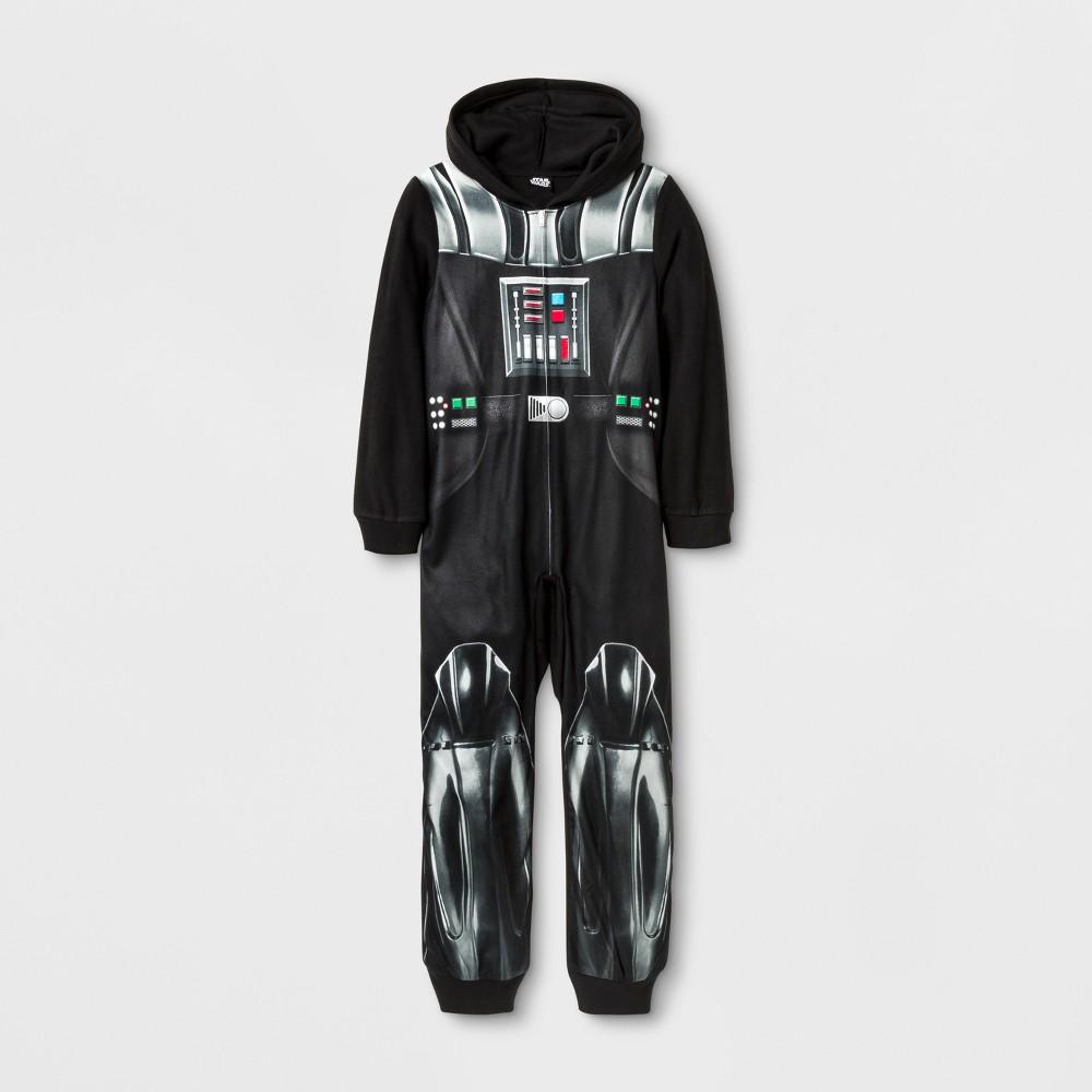 Boys Star Wars Union Suit - Black 6