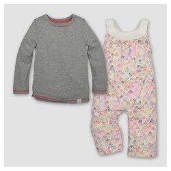 Burt's Bees Baby® Toddler Girls' Jumpsuit - Egg Shell