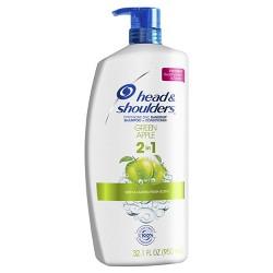 Head & Shoulders 2 in 1 Green Apple Shampoo - 32.1 fl oz