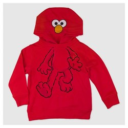Toddler Boys' Sesame Street Elmo Sweatshirt - Red