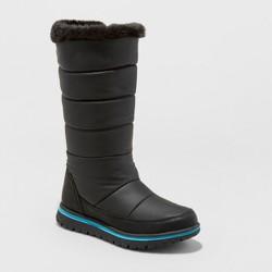 Girls' Pinky Winter Boots - Cat & Jack™ Black