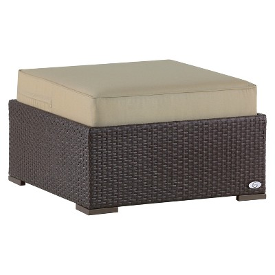 Patio Ottomans : All Weather Wicker Patio Furniture : Target