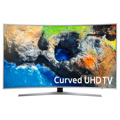 Samsung 55  Curved 4k UHD - Black (UN55MU7500FXZA)