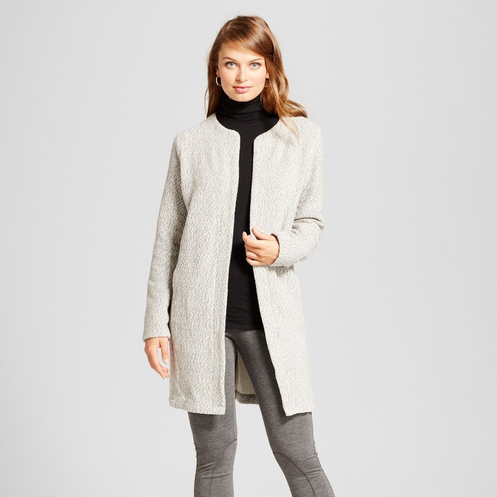 Womens Car Coat - A New Day Gray S