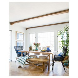 Global Dining Room Styled by Emily Henderson