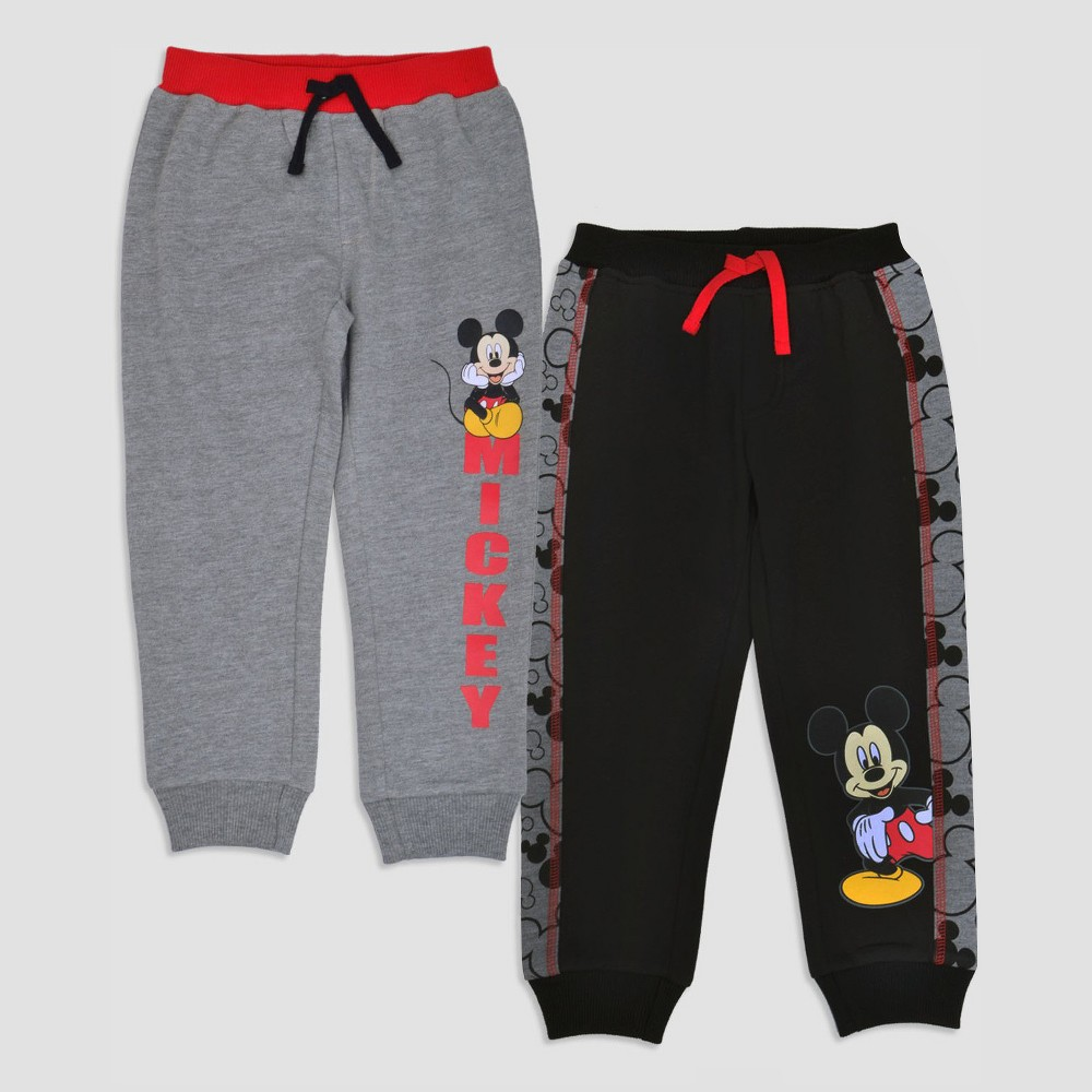 Toddler Boys Mickey Mouse Lounge Pants - 2T, Multicolored