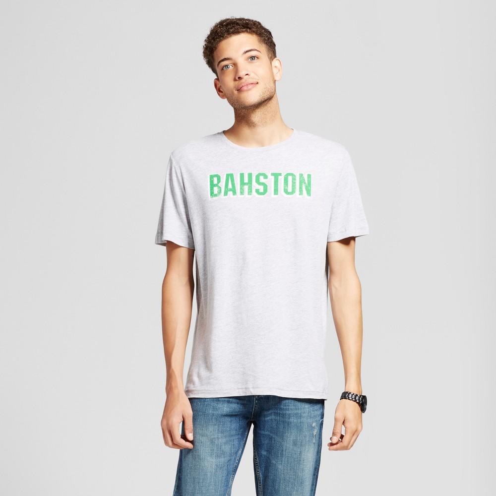 Mens Boston Bahston T-Shirt Gray Xxl - Awake