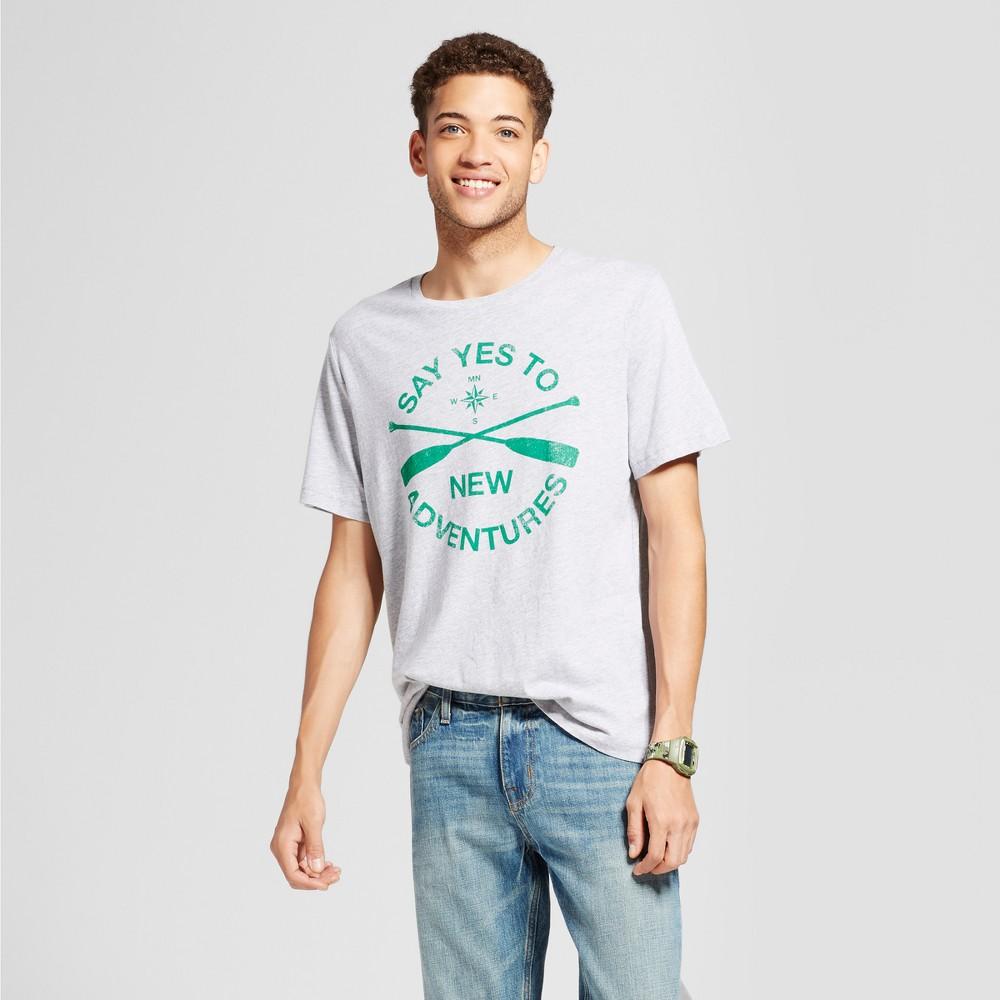 Mens Minnesota Yes To Adventures T-Shirt Gray S - Awake