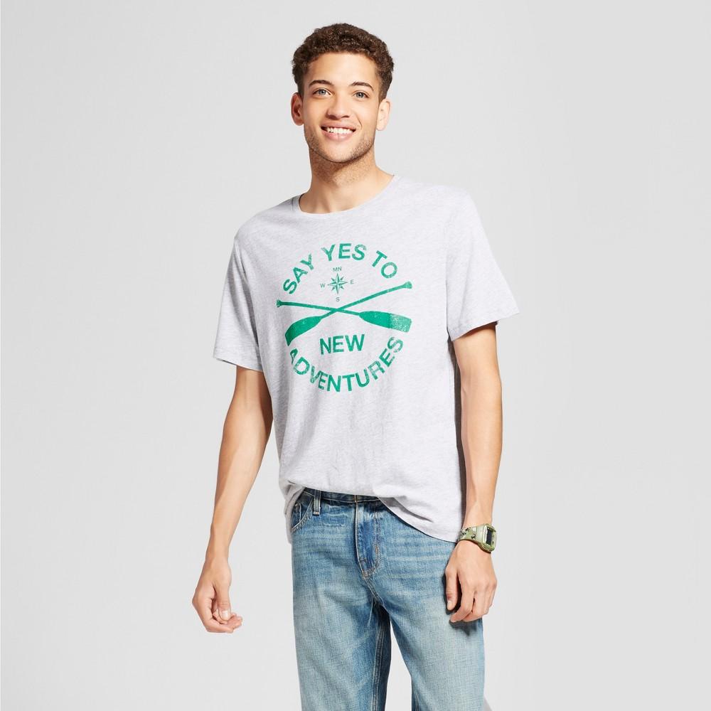 Mens Minnesota Yes To Adventures T-Shirt Gray M - Awake