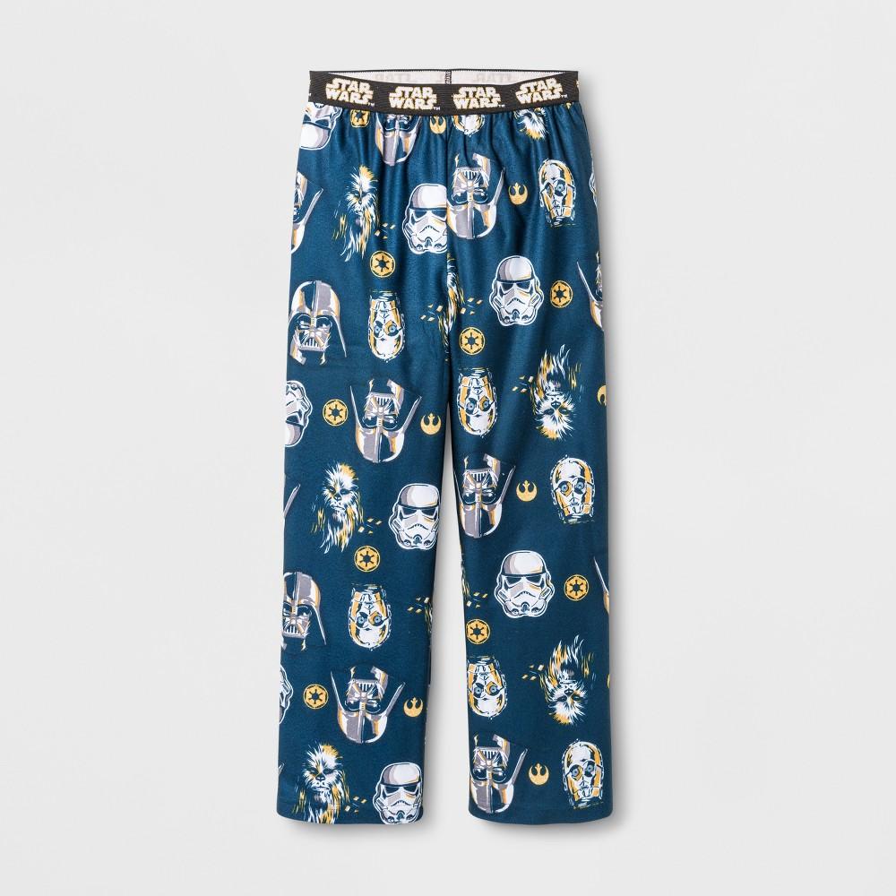 Boys Star Wars Pajama Pants - Blue L
