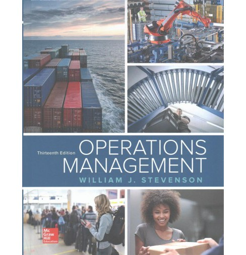 Operations Management (Hardcover) (William J. Stevenson) - image 1 of 1