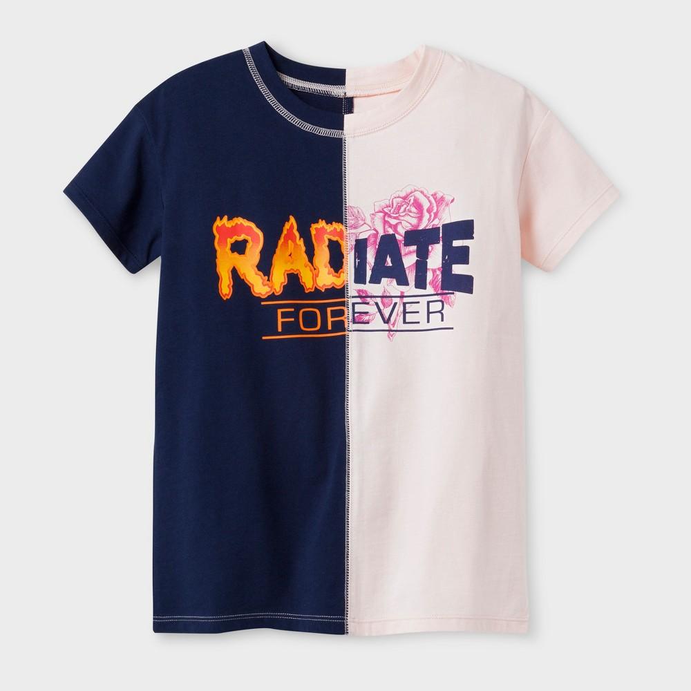 Girls Graphic T-Shirt - Art Class Nightfall Blue M
