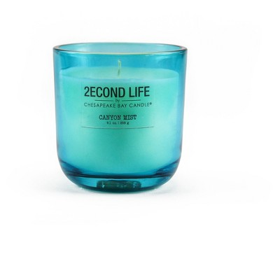Glass Jar Candle Canyon Mist 9.1oz - 2econd Life by Chesapeake Bay Candle