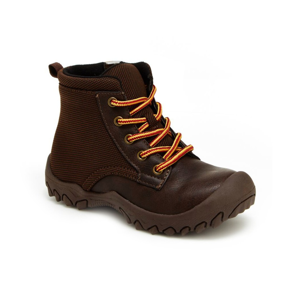 Boys M.A.P. Whistler Hiking Boots 5 - Brown