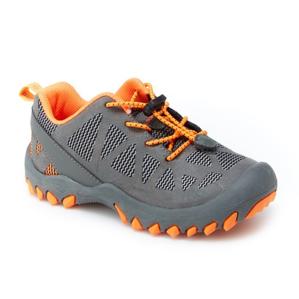 Boys M.A.P. Troy Hiking Boots 4 - Gray