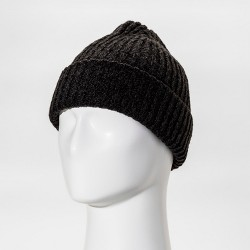 Men's Cable Fisherman Beanie - Goodfellow & Co™ Marled Black