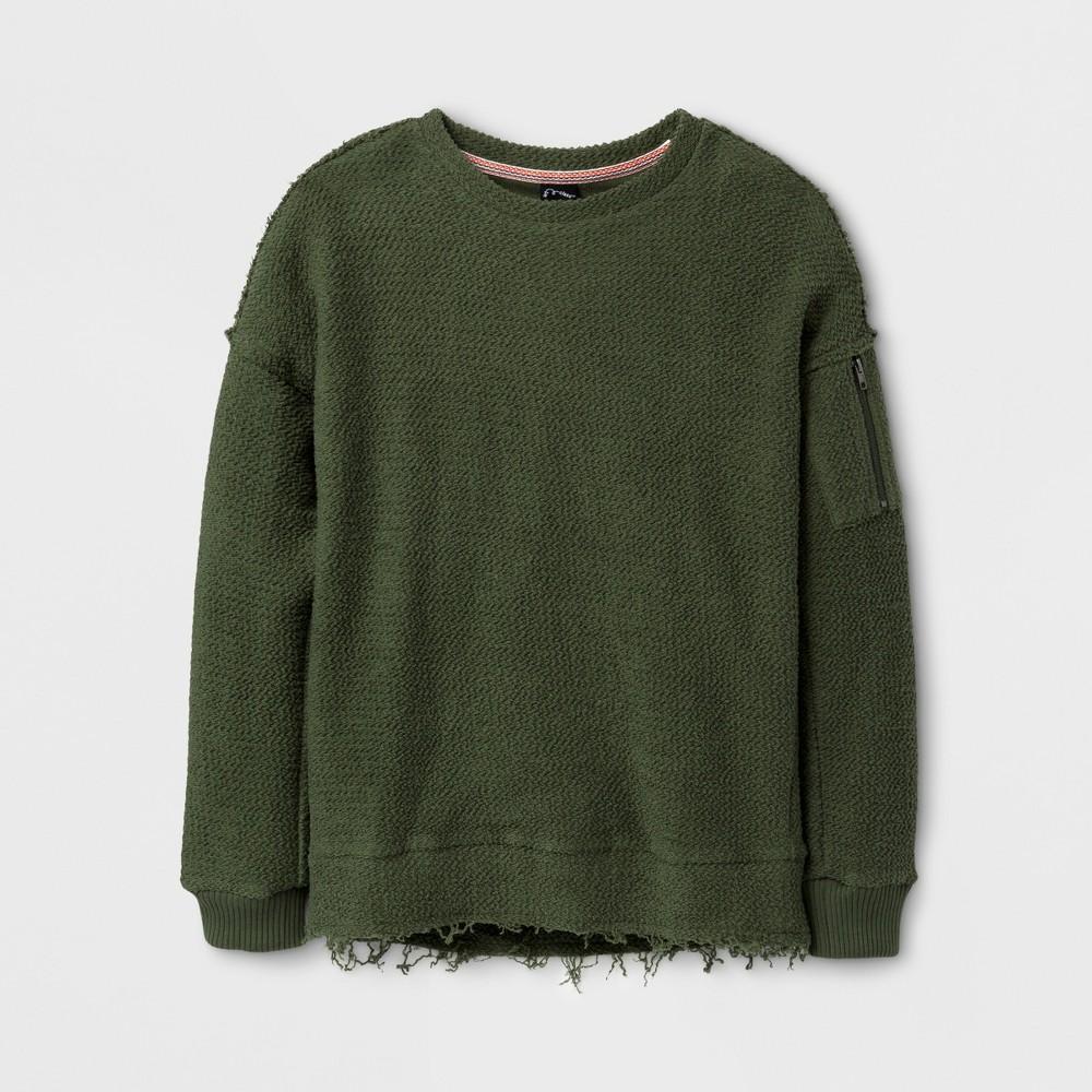 Boys Pullover Sweatshirt - Art Class Italian Cypress M, Green