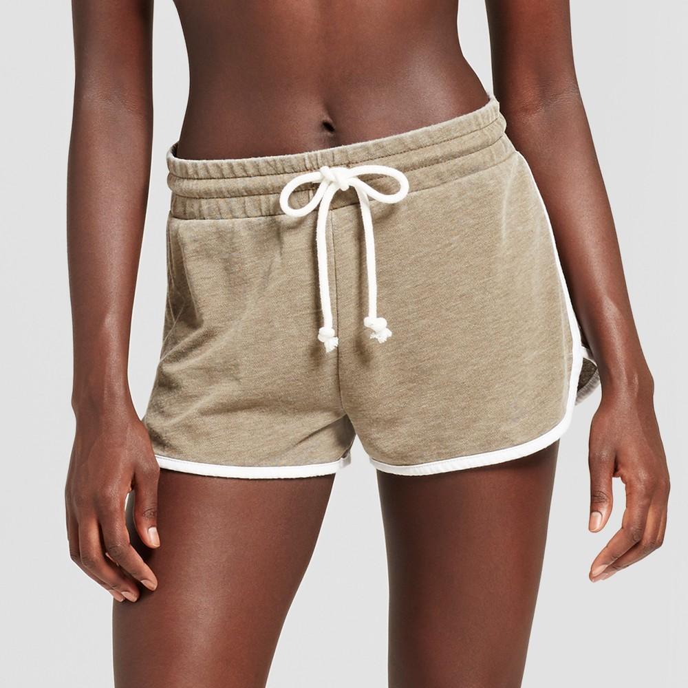 Womens Pajama Shorts - Xhilaration Seaweed XS, Green